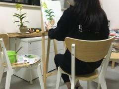 唐嫣晒人生中第一幅画作 获得网友点赞