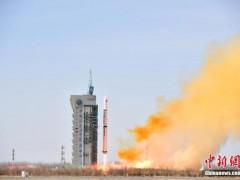 中国在酒泉成功发射遥感三十一号01组卫星