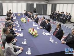 李克强会见日本在野党负责人