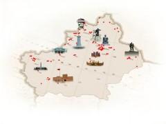 [奋斗百年路 启航新征程 ]镌刻在新疆大地上的红色印记