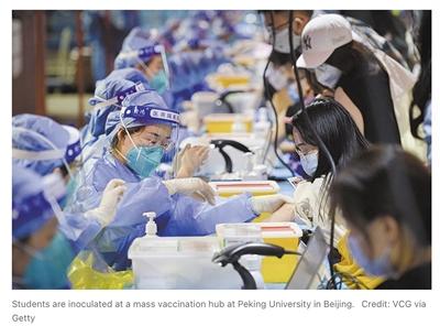"""""""对许多国家来说,中国疫苗是唯一可及的疫苗"""",中国疫苗获批增"""